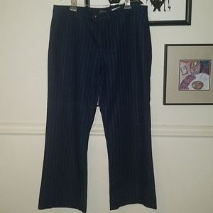 NYDJ  Not Your Daughter's Jean blue pinstripe 18P